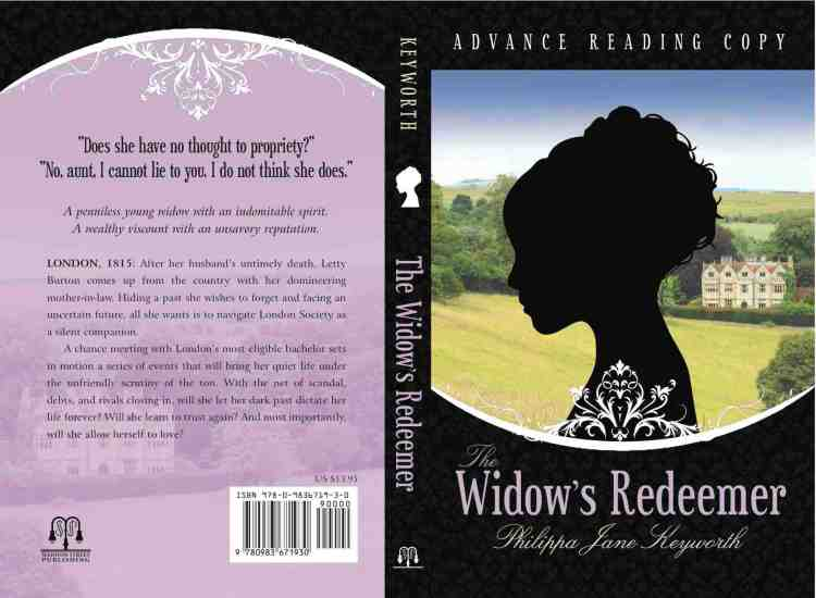 The Widow's Redeemer Book Cover - Philippa Jane Keyworth - Regency Romances
