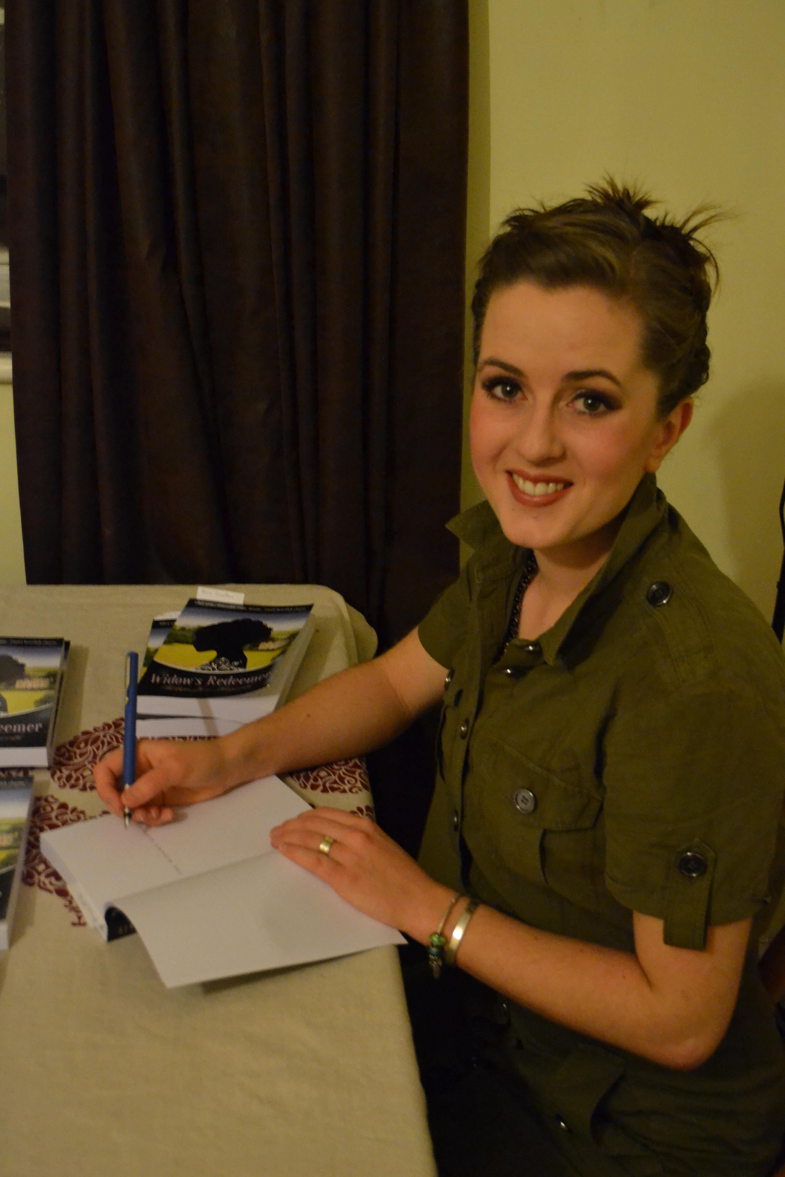 The Widow's Redeemer Launch Party - Philippa Jane Keyworth
