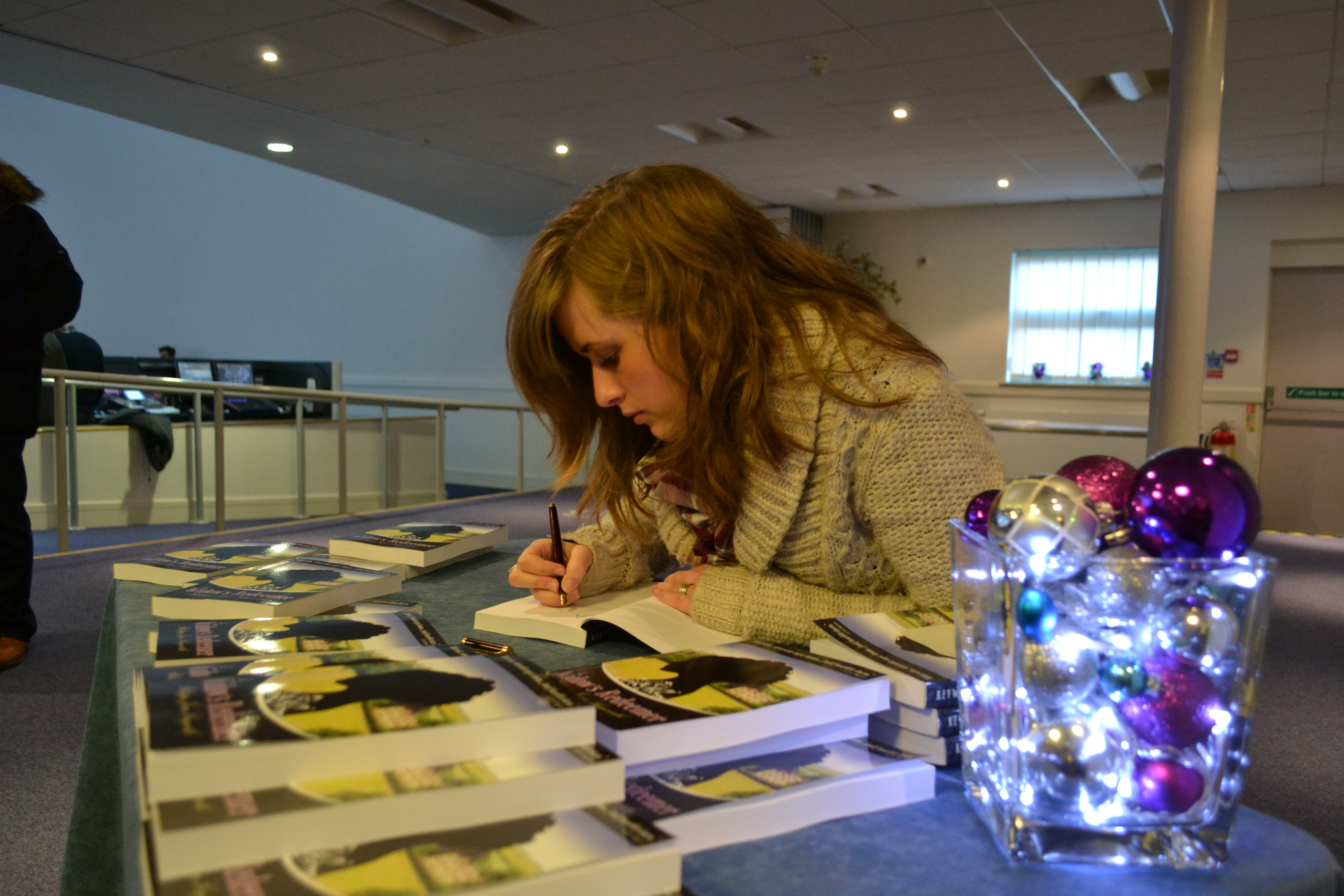 The Widow's Redeemer Book Signing - Philippa Jane Keyworth
