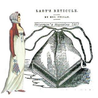 Regency Reticule - Dressing a Regency Woman - Philippa Jane Keyworth - Regency Romance Author