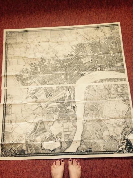 Half Rocque's Map