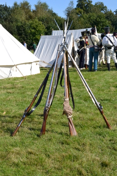 Replica Napoleonic Muskets   Re-Enactment Historical Research for Authors   Philippa Jane Keyworth