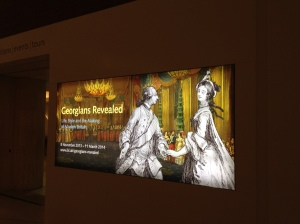 Georgian's Revealed Exhibition British Library   Philippa Jane Keyworth