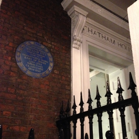 London Town House | Regency London | William Pitt and Gladstone | Philippa Jane Keyworth