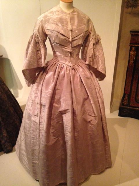 Lavender Silk Victorian Dress c.1850 with tassels | Victorian Dress | Philippa Jane Keyworth