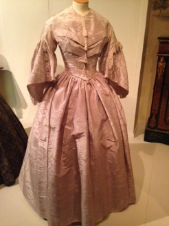 Lavender Silk Victorian Dress c.1850 with tassels | Victorian Dress | Philippa Jane Keyworth