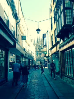 Canterbury Street | Historic Canterbury | Philippa Jane Keyworth