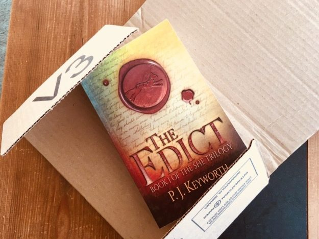 The Edict Paperback | Fantasy Novel | The She Trilogy | P. J. Keyworth