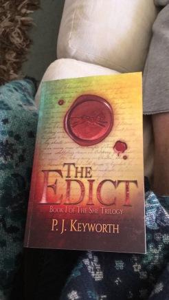 The Edict - Fantasy Book - P. J. Keyworth